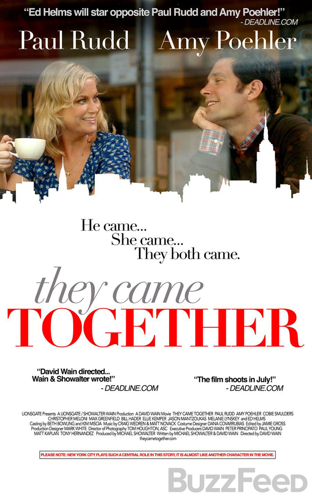 TheyCameTogetherPoster