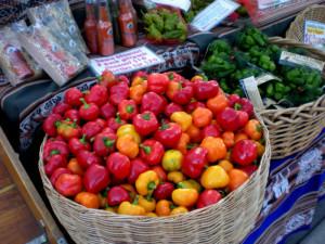 pepper stall