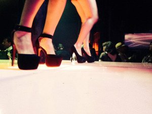 Heels of dancing glory